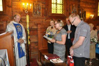 20-lecie posługi kapłańskiej ks. proboszcza Jacka Michalewskiego