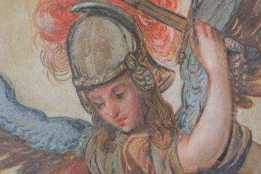 Renowacja obrazu św. Michała Archanioła