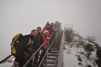 Zimowy spacer na Trzy Korony