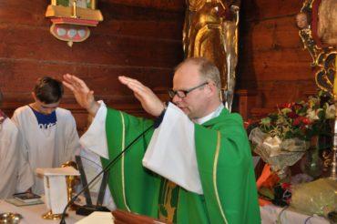 Zakończenie posługi proboszczowskiej przez ks. Jacka Michalewskiego w parafii NIM w Gaszynie