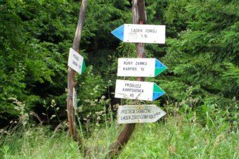 Z Lądka Zdrój przez Czrenicę do Stronia Śląskiego